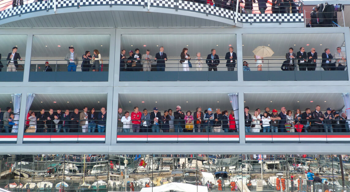 Carré VIP GP F1 Monaco - Tiveria