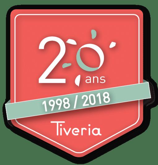 Logo 20 ans - Tiveria