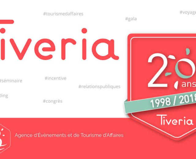 Tiveria Organisations fête ses 20 ans
