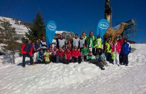 Ski avec Tiveria