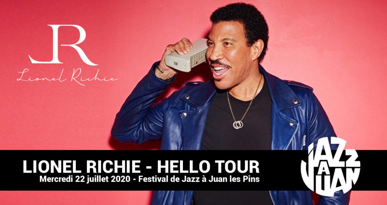Lionel Richie au Festival de Jazz de Juan les Pins 2020 avec Tiveria Organisations
