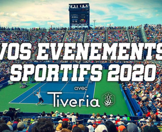 Vos événements sportifs avec Tiveria